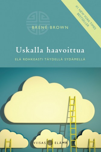 Uskalla haavoittua (Daring Greatly Finnish edition) cover design