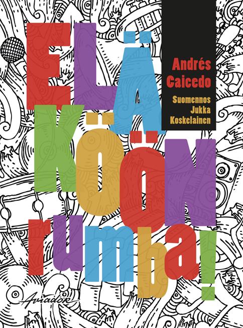 Eläköön rumba! book cover design