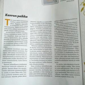 Column / Finnish Post and Logistics Union Magazine 6/14