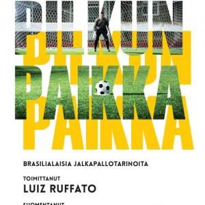 Pilkun paikka book cover design