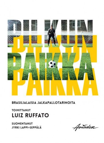 Pilkun paikka book cover design