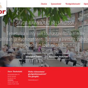 savor.fi design (CMS + tech Nettikari Oy)
